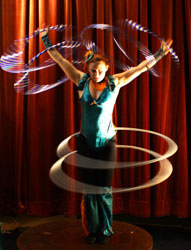 hula hoops for entertainement