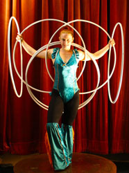 Australia's best hula hoop routines for hire